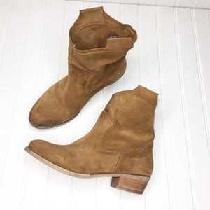 14th & Union   Slouchy Leather Booties
